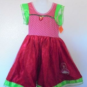 Strawberry Shortcake Tulle/Sequins Dress 3 & Up